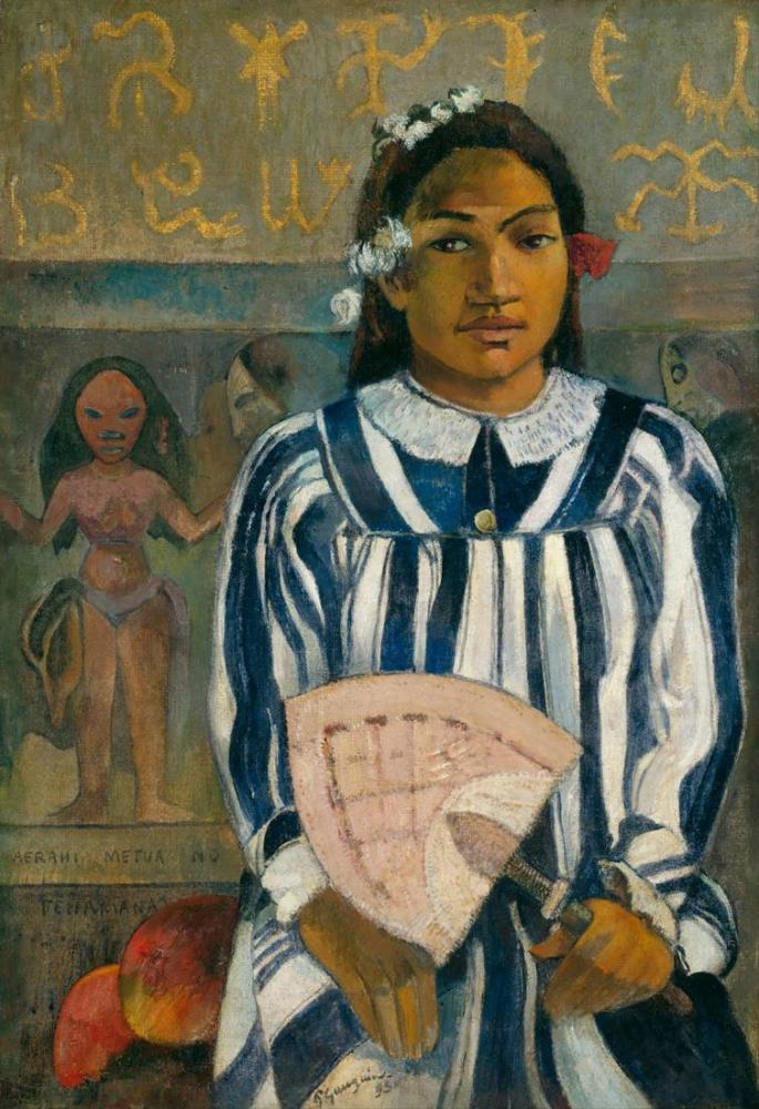 Tehamana- Paul Gauguin, Kanvas Tablo, Paul Gauguin, kanvas tablo, canvas print sales