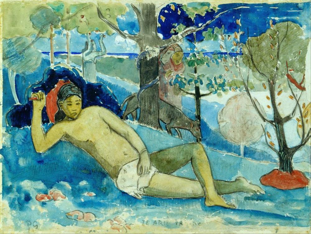 Güzellik Kraliçesi - Paul Gauguin, Kanvas Tablo, Paul Gauguin, kanvas tablo, canvas print sales