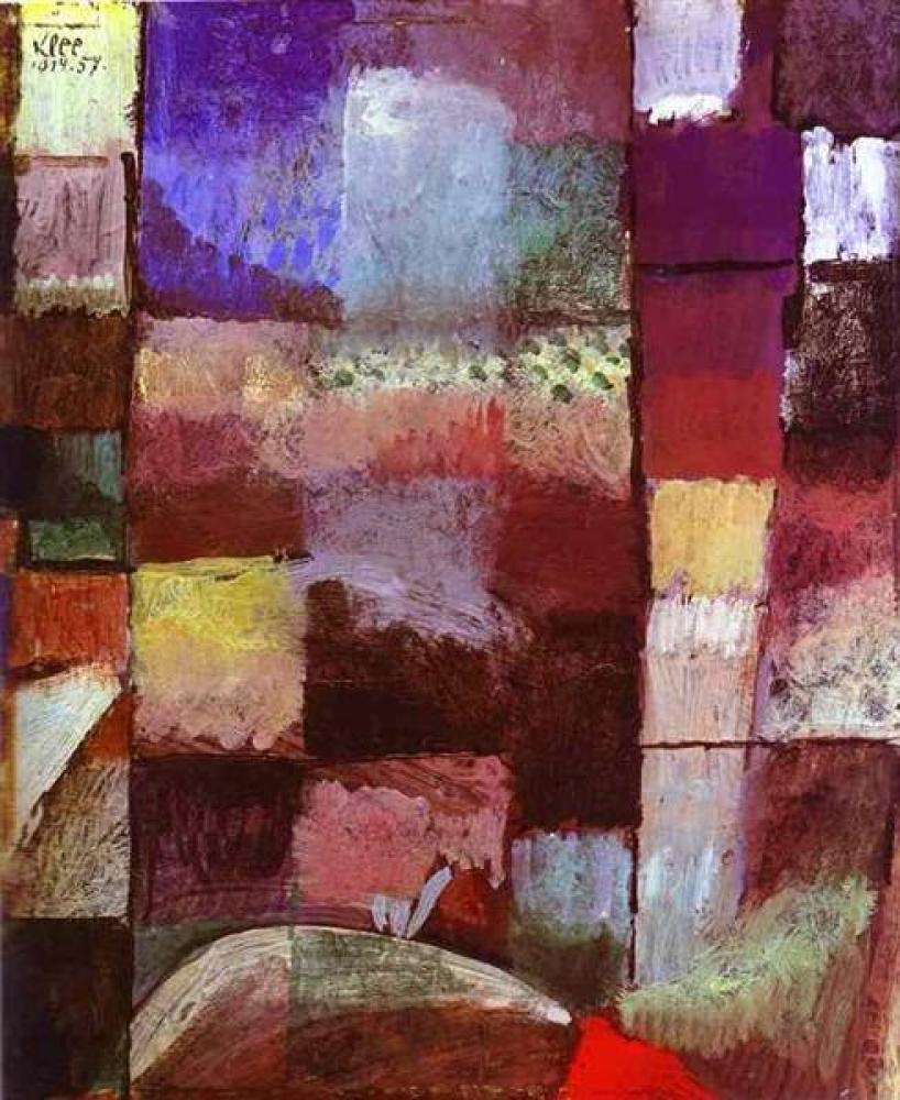 Paul Klee, Hamamet, Kanvas Tablo, Paul Klee, kanvas tablo, canvas print sales