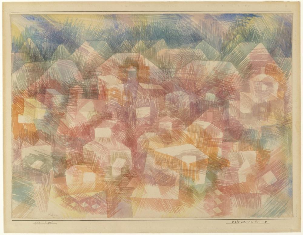 Paul Klee Ro Sabahın Erken Saatlerinde, Kanvas Tablo, Paul Klee, kanvas tablo, canvas print sales