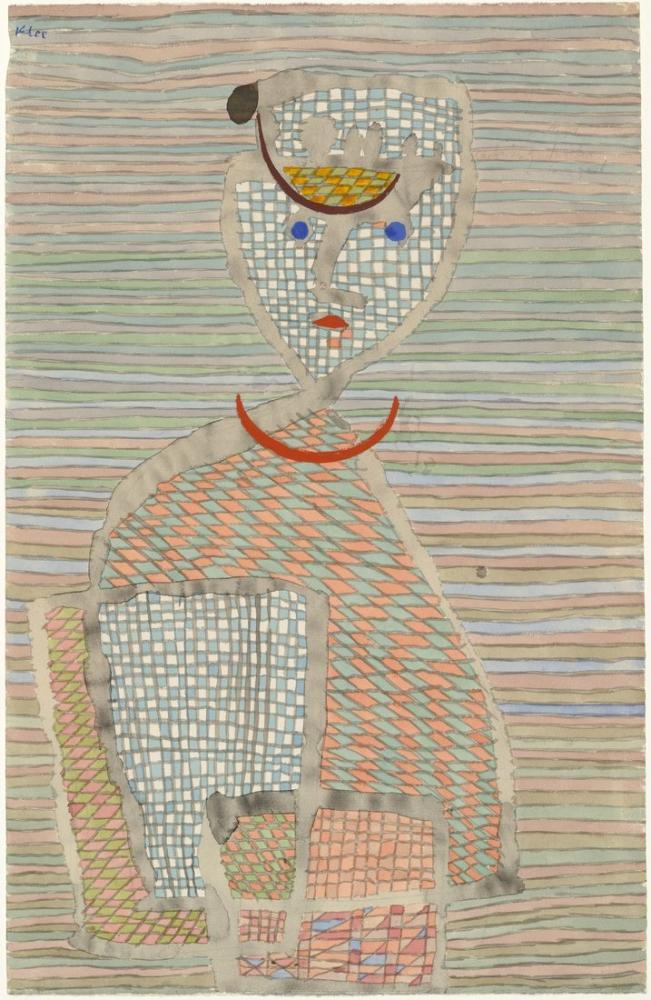 Paul Klee Ayak İşleri Erkek, Figür, Paul Klee, kanvas tablo, canvas print sales
