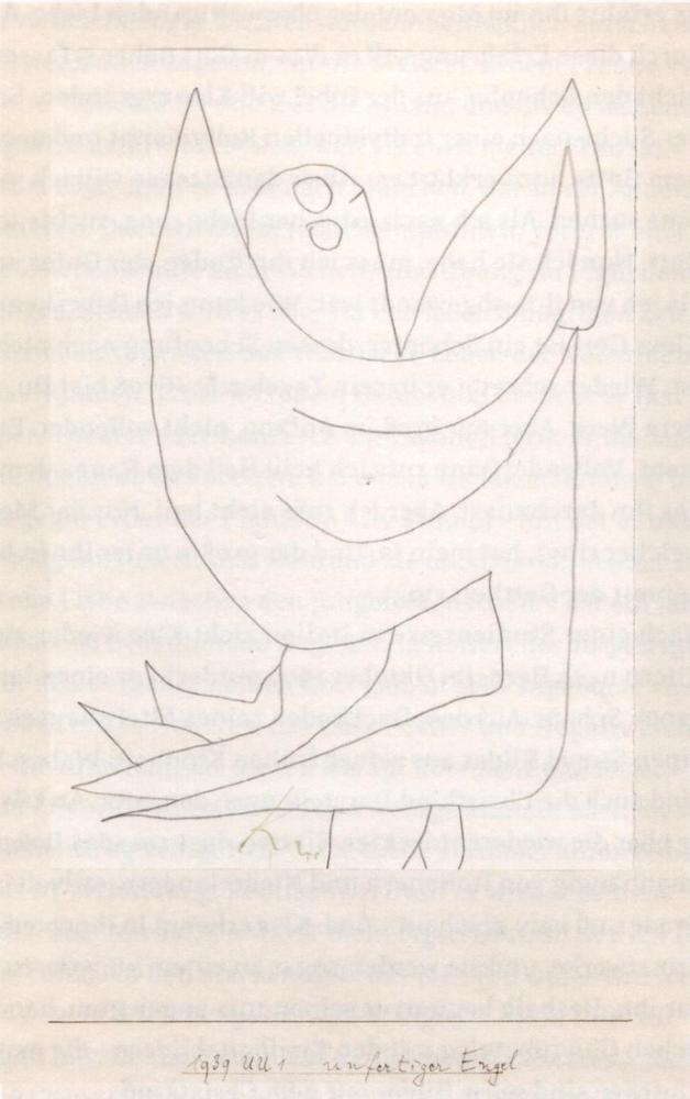 Paul Klee Eunfinished Angel, Canvas, Paul Klee, kanvas tablo, canvas print sales