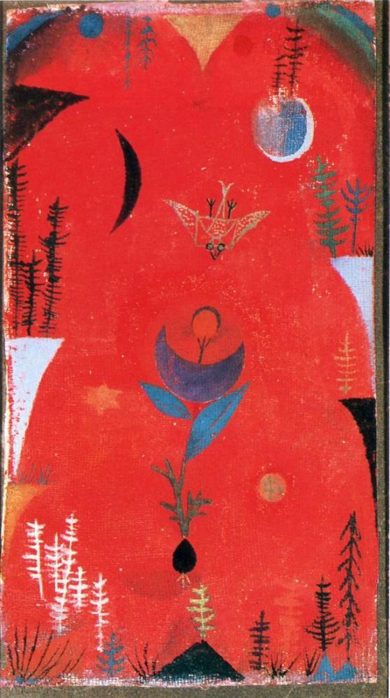 Paul Klee Flower Myth, Figure, Paul Klee, kanvas tablo, canvas print sales