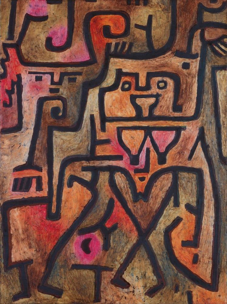 Paul Klee Forest Witches, Canvas, Paul Klee, kanvas tablo, canvas print sales