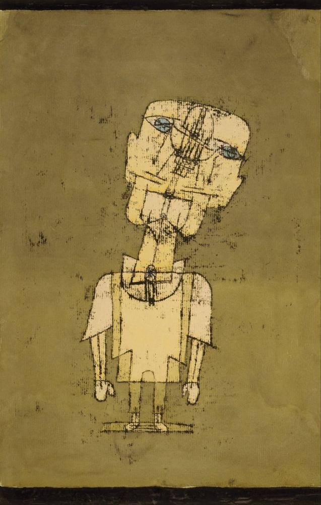 Paul Klee Bir Dahi Hayalet, Figür, Paul Klee, kanvas tablo, canvas print sales