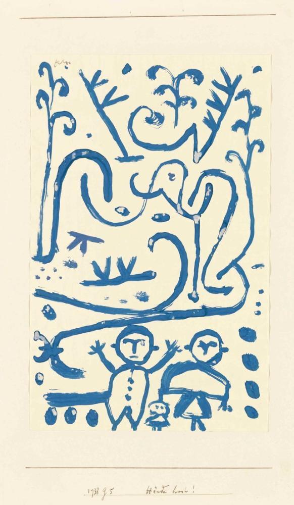 Paul Klee Eller Yukarı, Kanvas Tablo, Paul Klee, kanvas tablo, canvas print sales