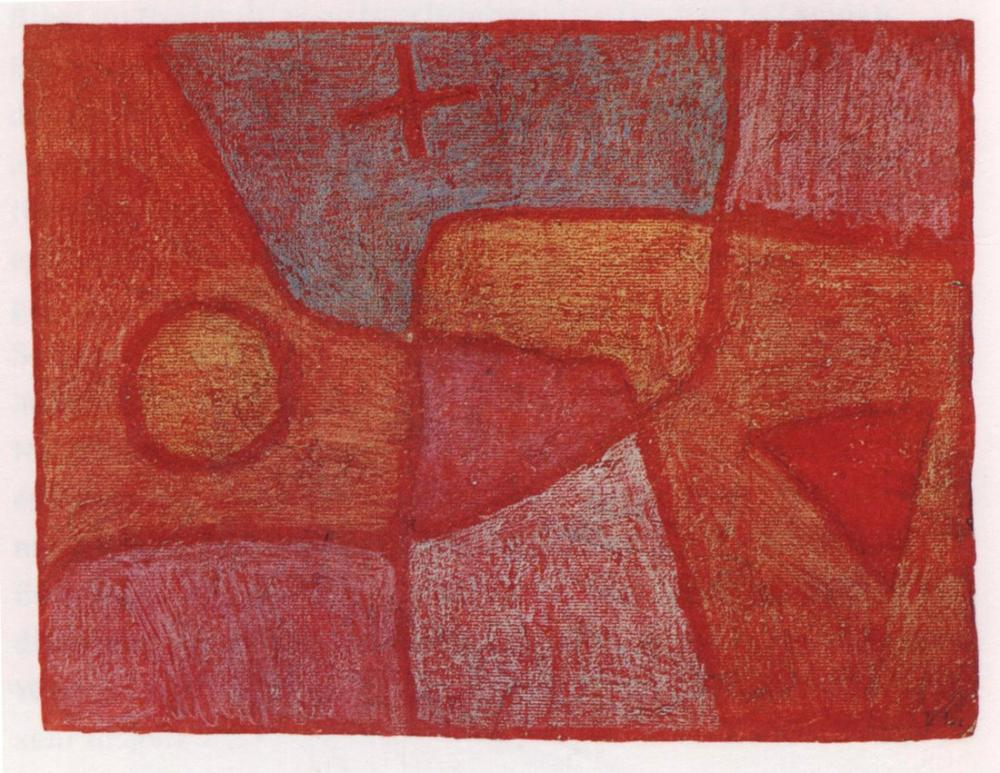 Paul Klee Sıcak Nokta, Kanvas Tablo, Paul Klee, kanvas tablo, canvas print sales