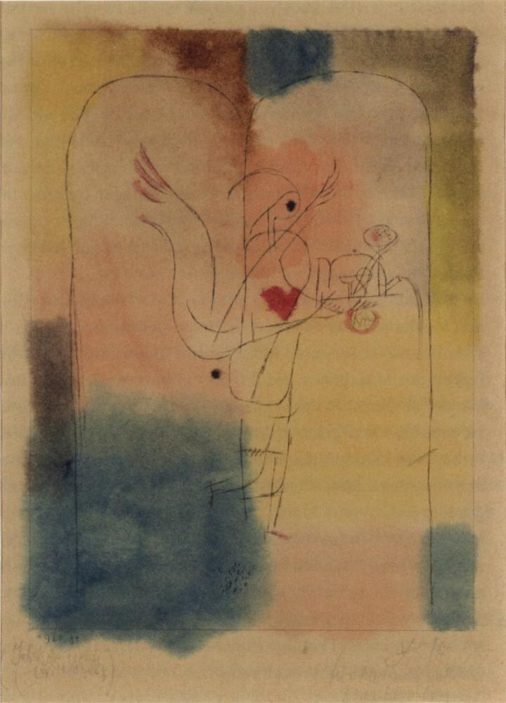 Paul Klee Melek İstenen Şeyi Getiriyor, Figür, Paul Klee, kanvas tablo, canvas print sales