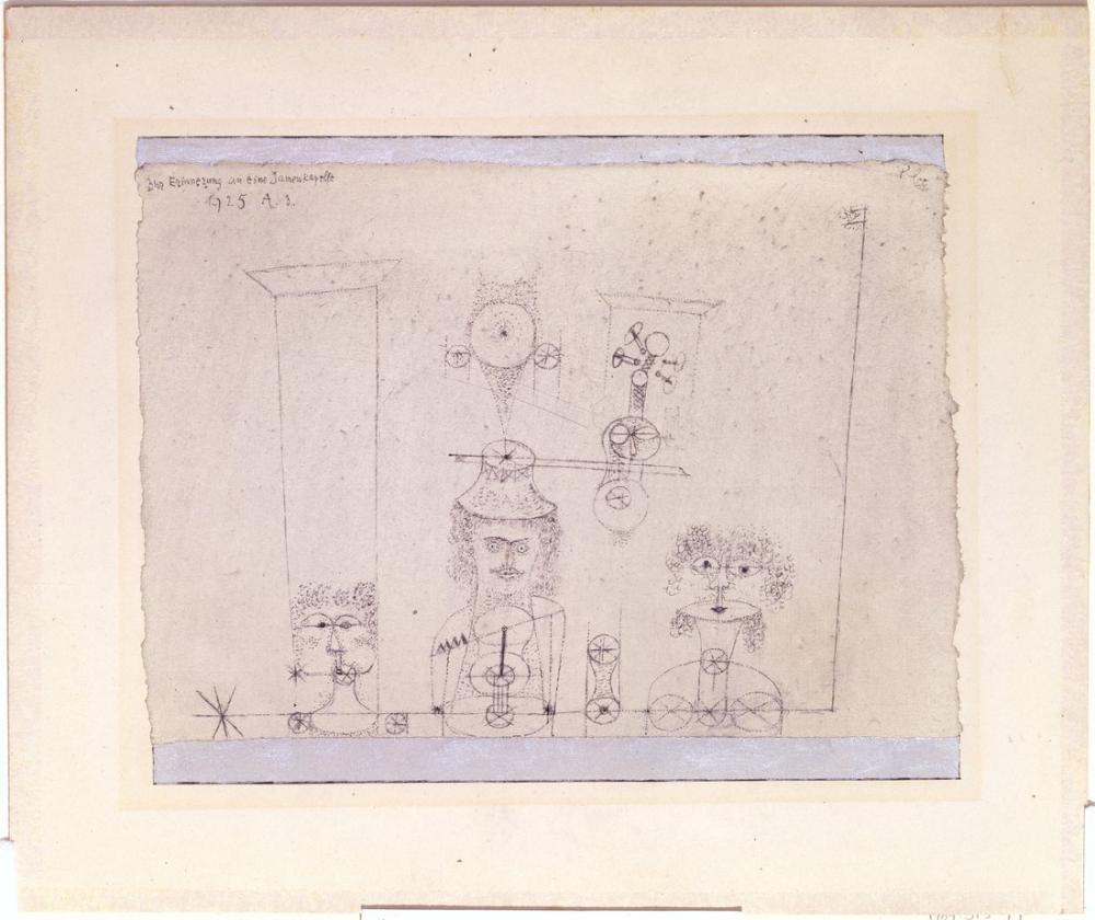 Paul Klee Tüm Kız Grubları Anısına, Kanvas Tablo, Paul Klee, kanvas tablo, canvas print sales