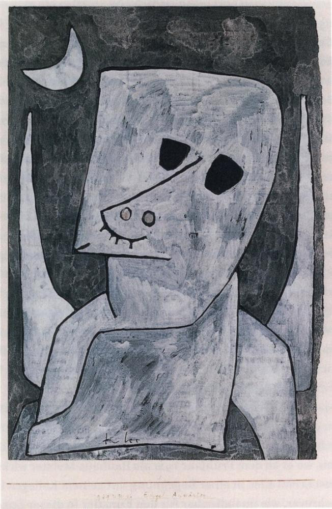 Paul Klee Angel Contender, Figure, Paul Klee, kanvas tablo, canvas print sales