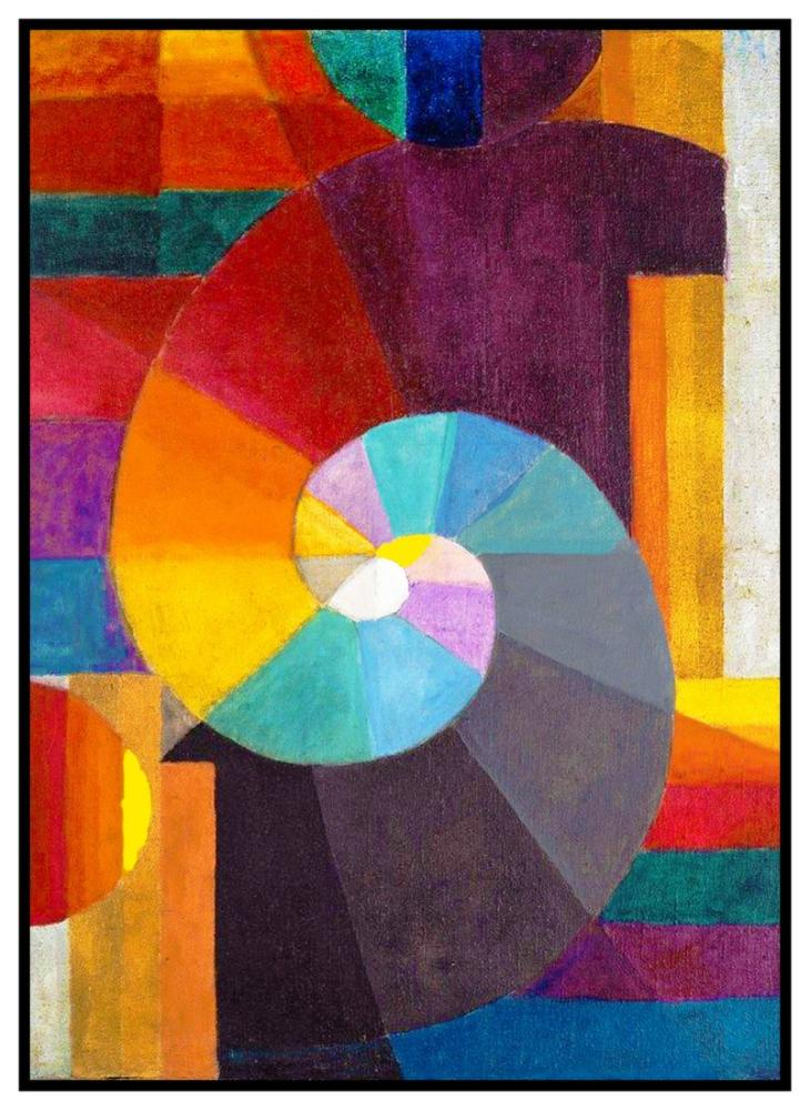 Paul Klee In The Beginning, Canvas, Paul Klee, kanvas tablo, canvas print sales