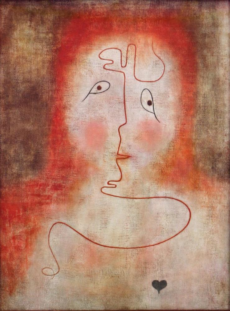 Paul Klee Sihirli Aynada, Figür, Paul Klee, kanvas tablo, canvas print sales
