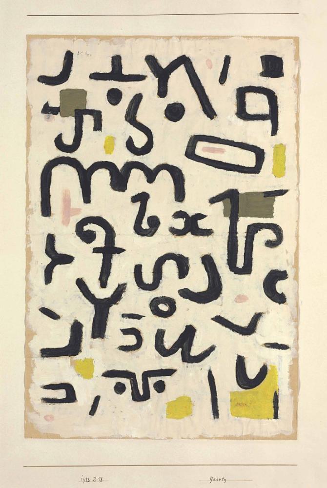 Paul Klee Law, Canvas, Paul Klee, kanvas tablo, canvas print sales
