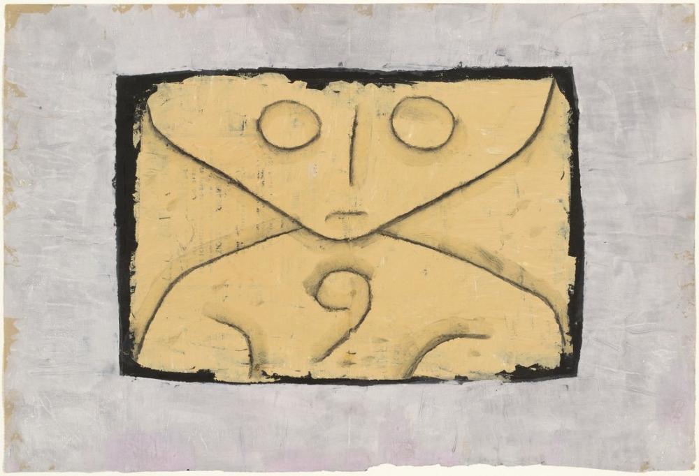 Paul Klee Mektup Hayalet, Kanvas Tablo, Paul Klee, kanvas tablo, canvas print sales