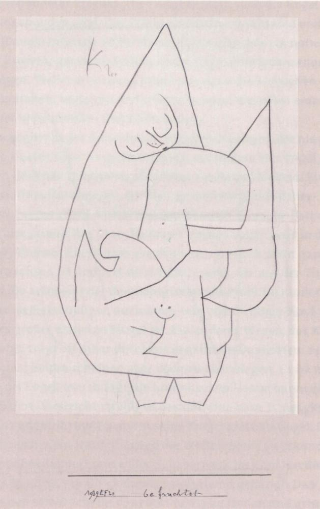 Paul Klee Angel Fertilizes, Figure, Paul Klee, kanvas tablo, canvas print sales