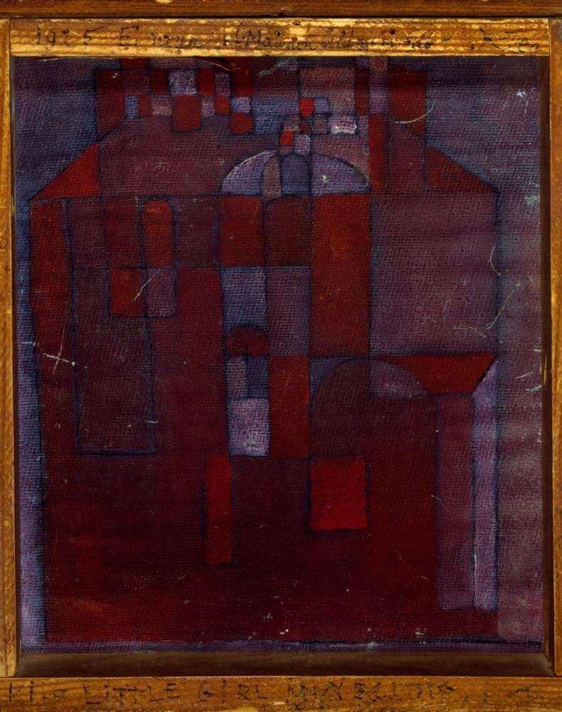 Paul Klee Little Girl, Canvas, Paul Klee, kanvas tablo, canvas print sales