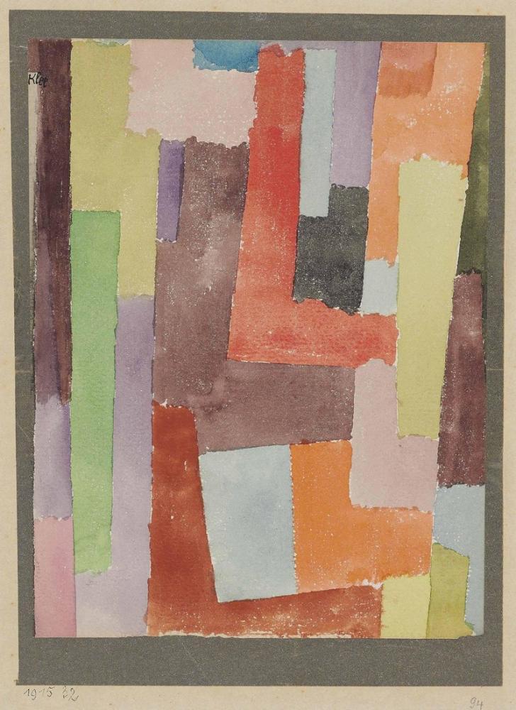 Paul Klee Yalnız Gezegen, Kanvas Tablo, Paul Klee, kanvas tablo, canvas print sales