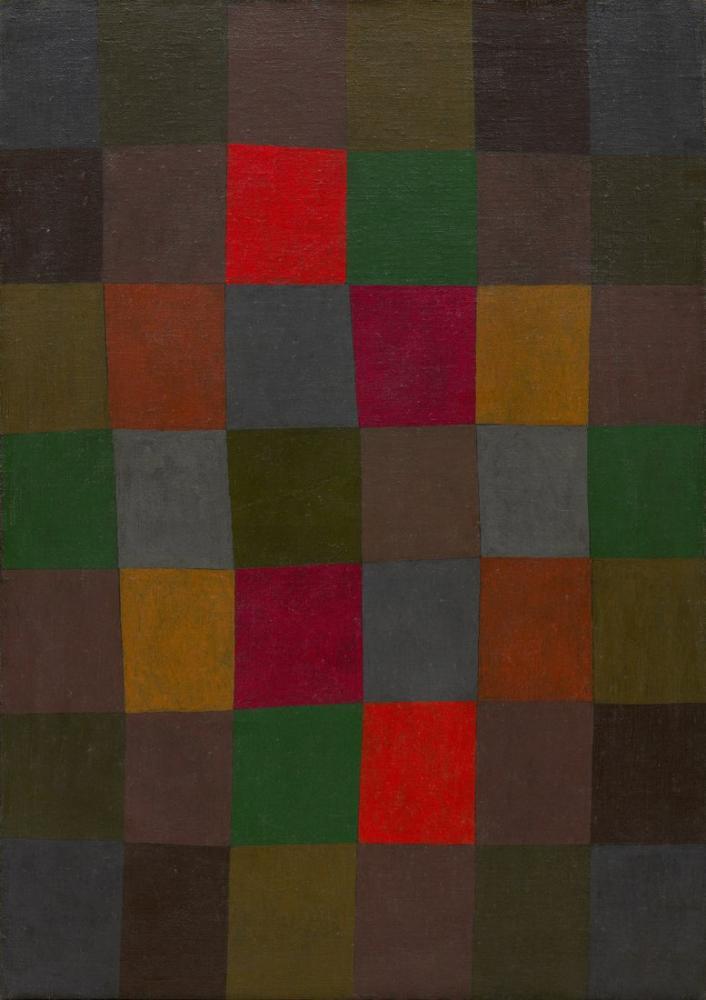Paul Klee New Harmony, Canvas, Paul Klee, PK228