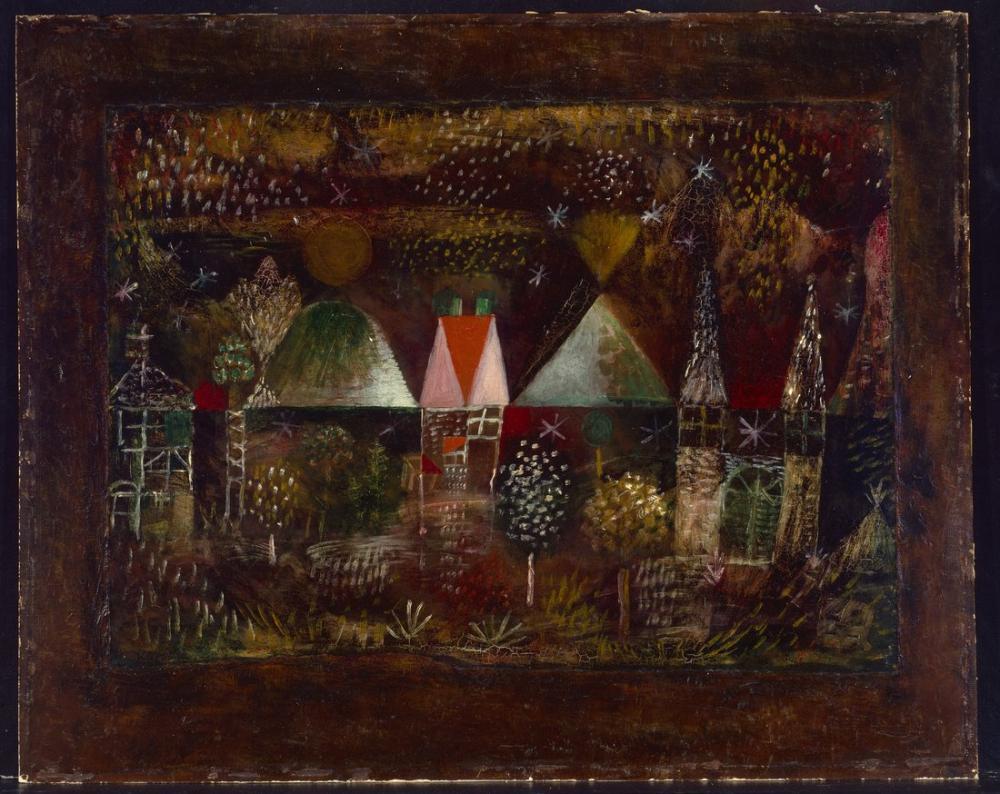 Paul Klee Gece Bayramı, Figür, Paul Klee, PK229