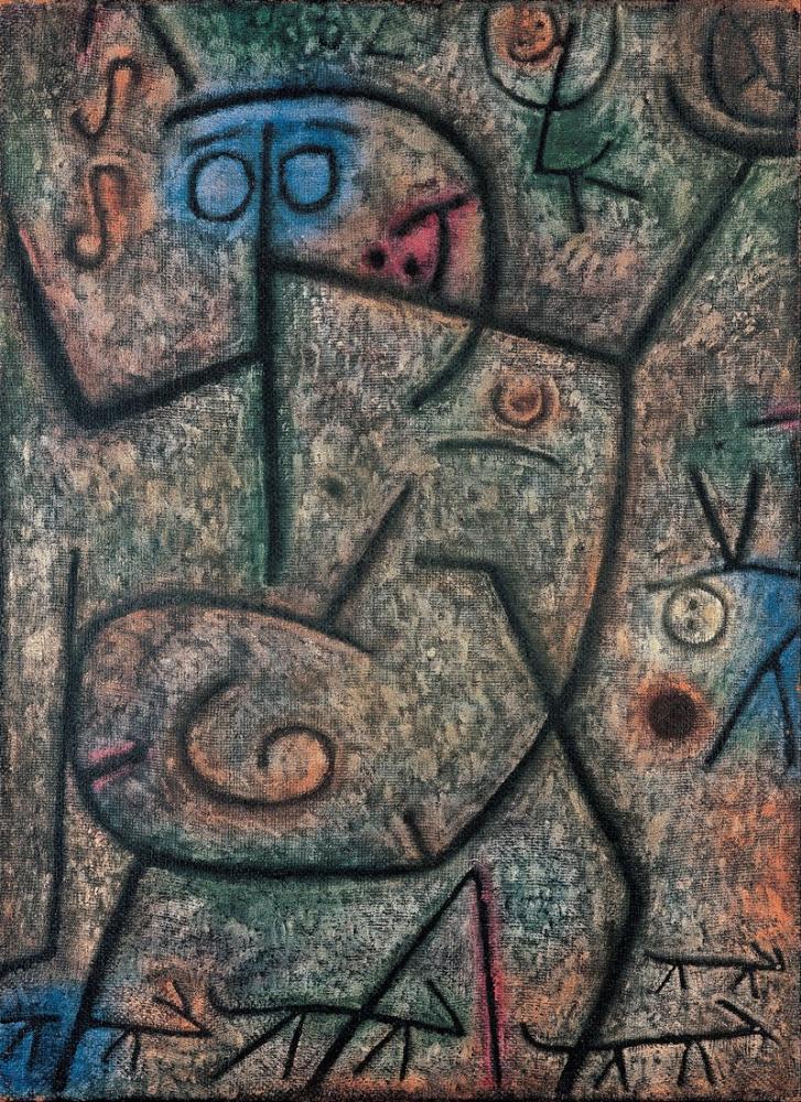 Paul Klee Oh These Rumors, Canvas, Paul Klee, kanvas tablo, canvas print sales