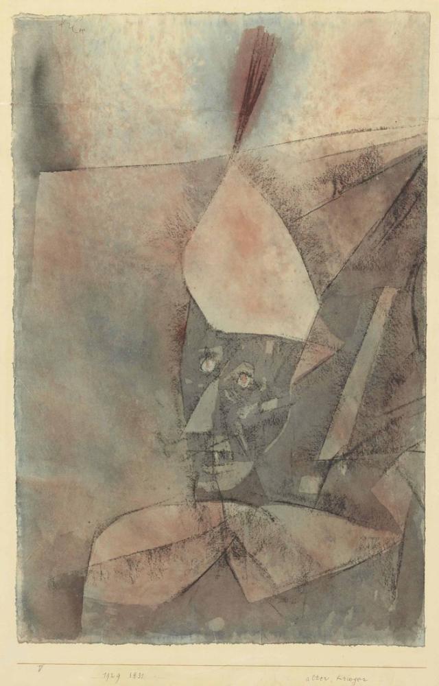 Paul Klee Eski Savaşçı, Figür, Paul Klee, PK236