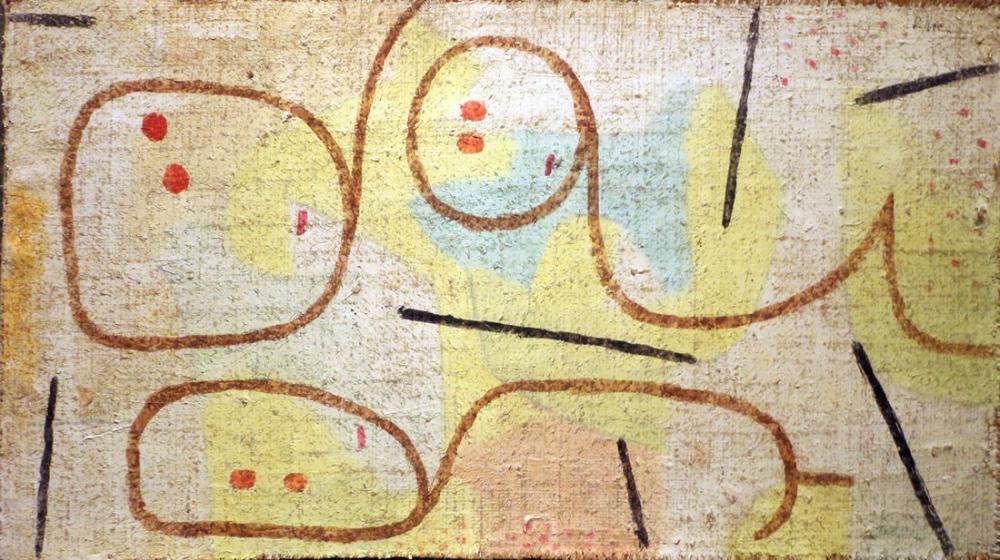 Paul Klee Uzanmış, Kanvas Tablo, Paul Klee, kanvas tablo, canvas print sales