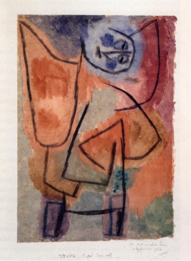 Paul Klee Angel Overflowing, Canvas, Paul Klee, kanvas tablo, canvas print sales