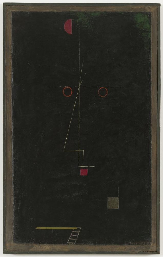 Paul Klee İp Cambazı Portresi, Kanvas Tablo, Paul Klee, PK256
