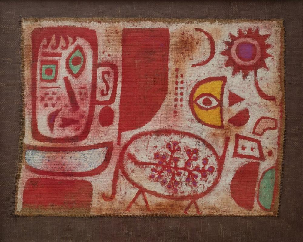 Paul Klee Sarhoşluk, Kanvas Tablo, Paul Klee, kanvas tablo, canvas print sales