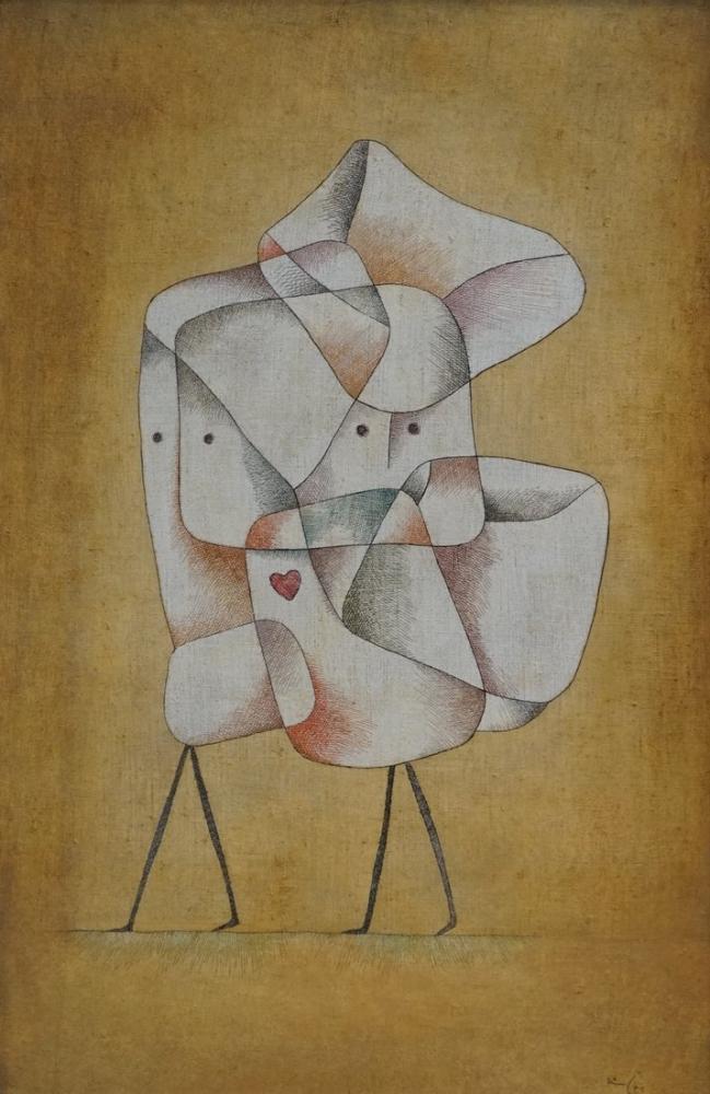 Paul Klee Siblings, Canvas, Paul Klee, kanvas tablo, canvas print sales