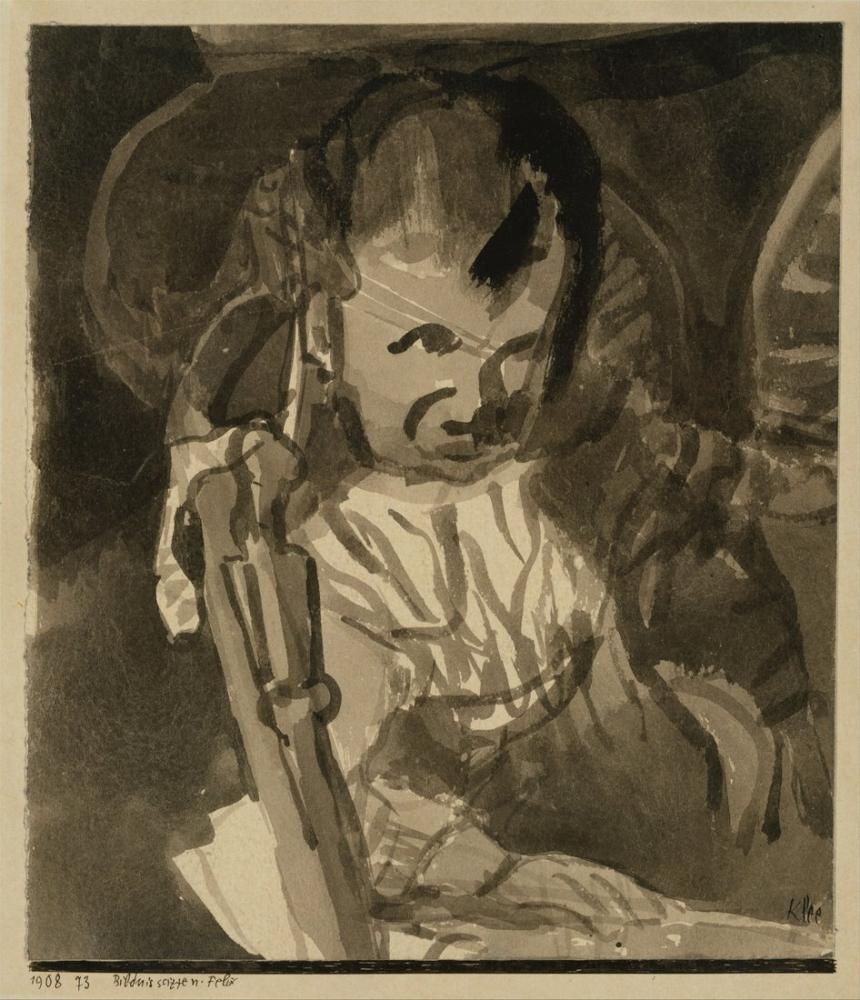 Paul Klee Felix Kroki, Kanvas Tablo, Paul Klee, kanvas tablo, canvas print sales