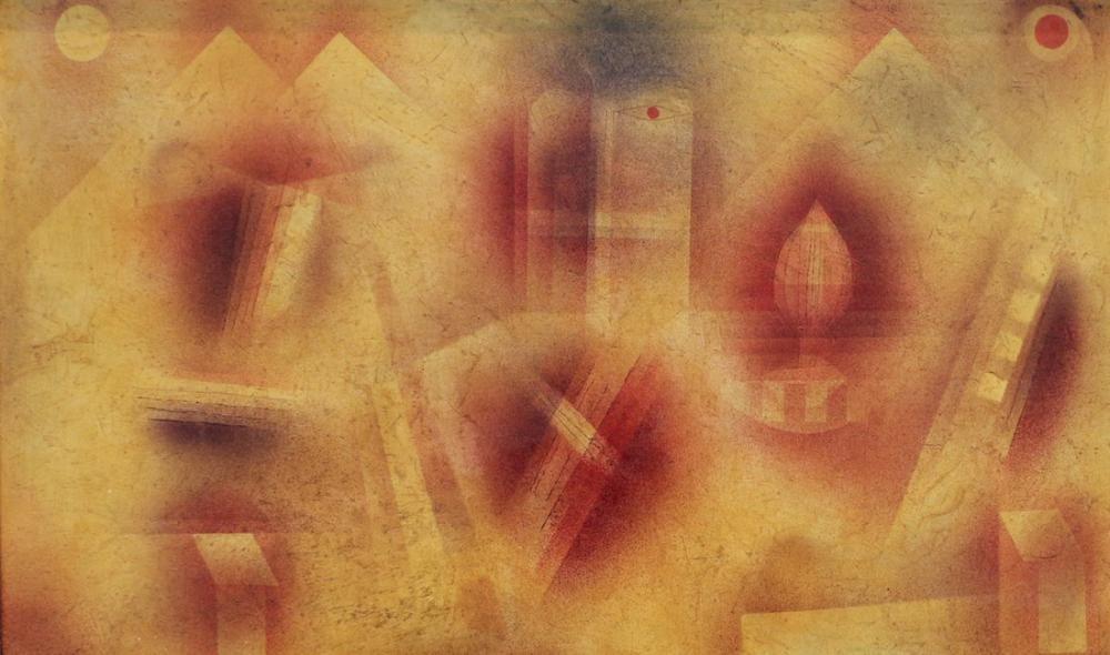 Paul Klee Parçalar İle Natürmort, Kanvas Tablo, Paul Klee, PK317