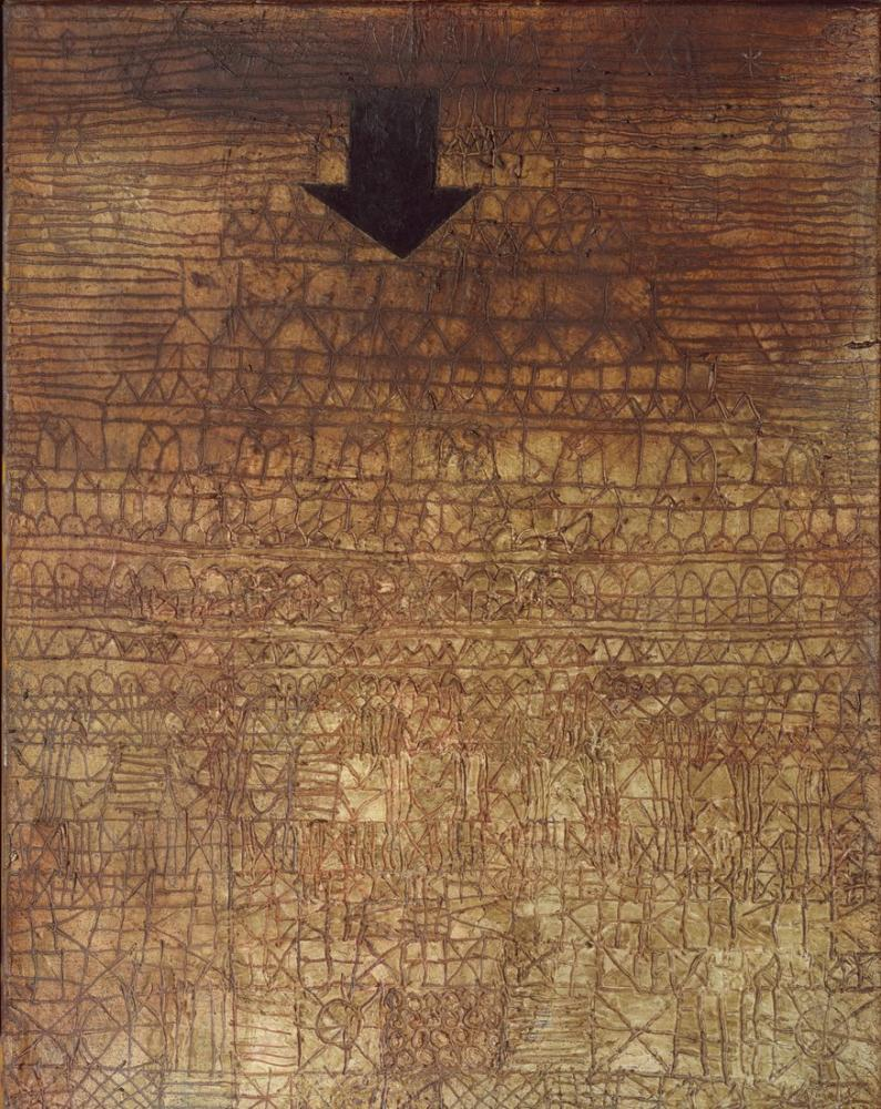 Paul Klee Yakalanmış Şehri, Kanvas Tablo, Paul Klee, kanvas tablo, canvas print sales