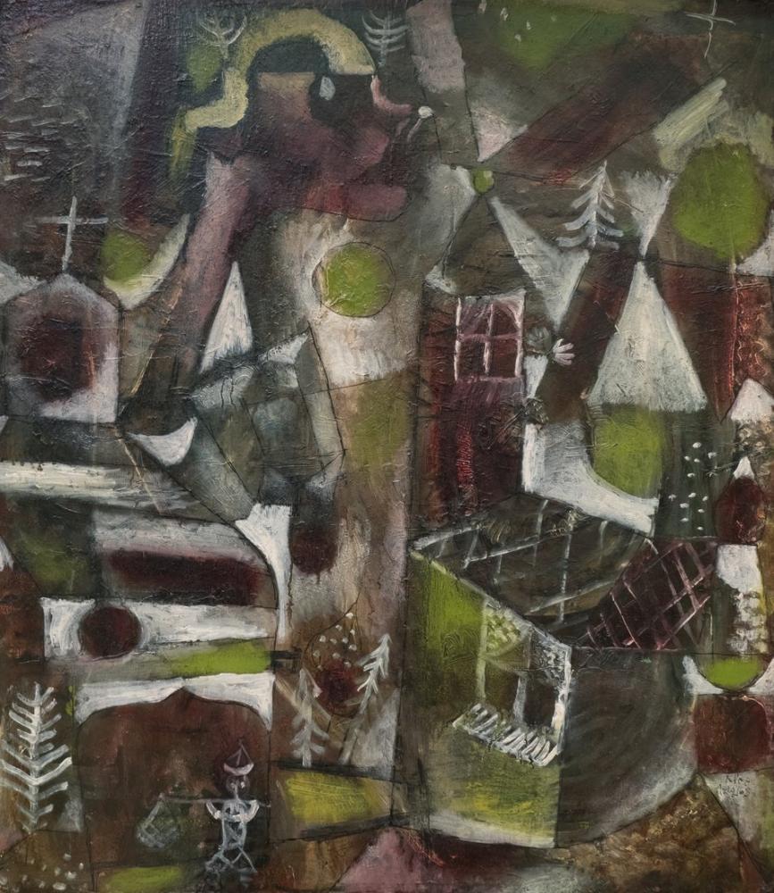 Paul Klee Sumpflegende, Canvas, Paul Klee, kanvas tablo, canvas print sales