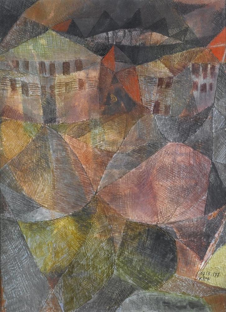 Paul Klee The Hotel, Canvas, Paul Klee, kanvas tablo, canvas print sales