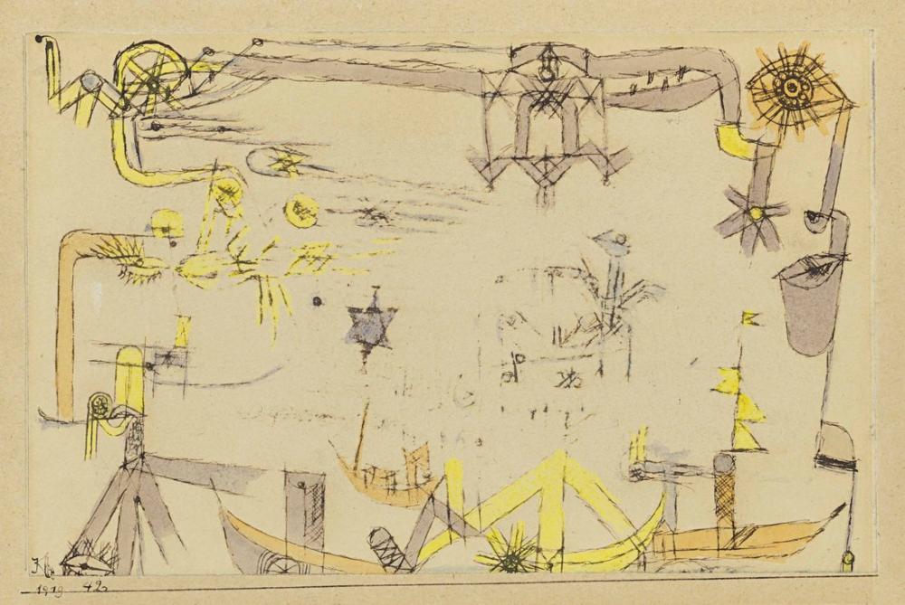 Paul Klee Travel, Canvas, Paul Klee, kanvas tablo, canvas print sales