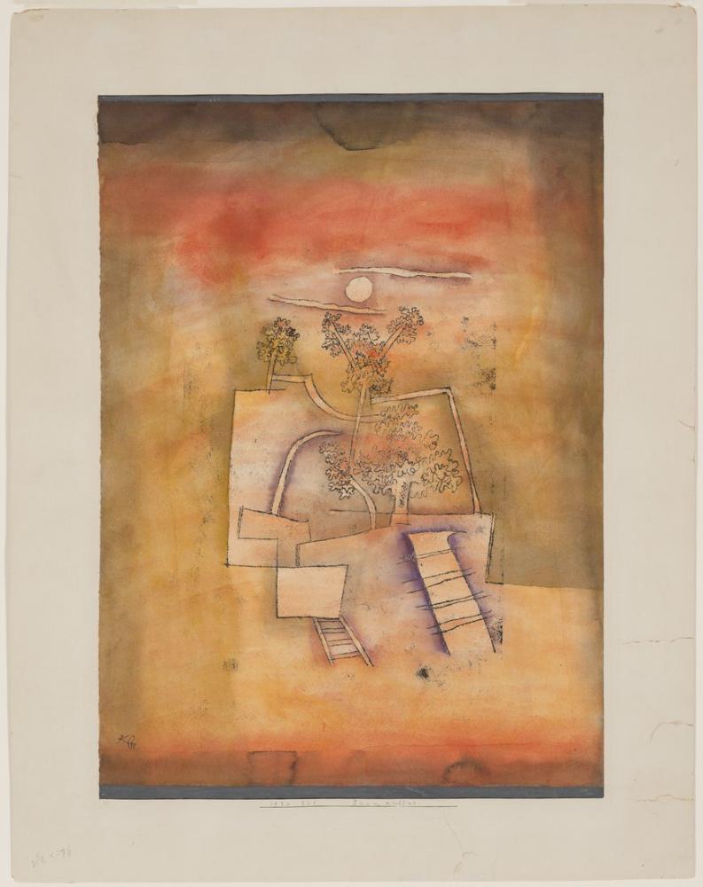 Paul Klee Ağaç Kültürü, Figür, Paul Klee, kanvas tablo, canvas print sales