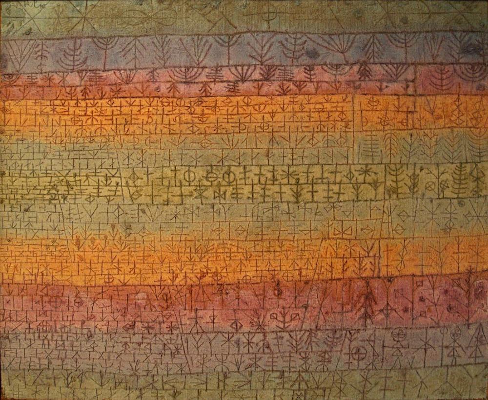Paul Klee Ağaç Kreş, Kanvas Tablo, Paul Klee, kanvas tablo, canvas print sales