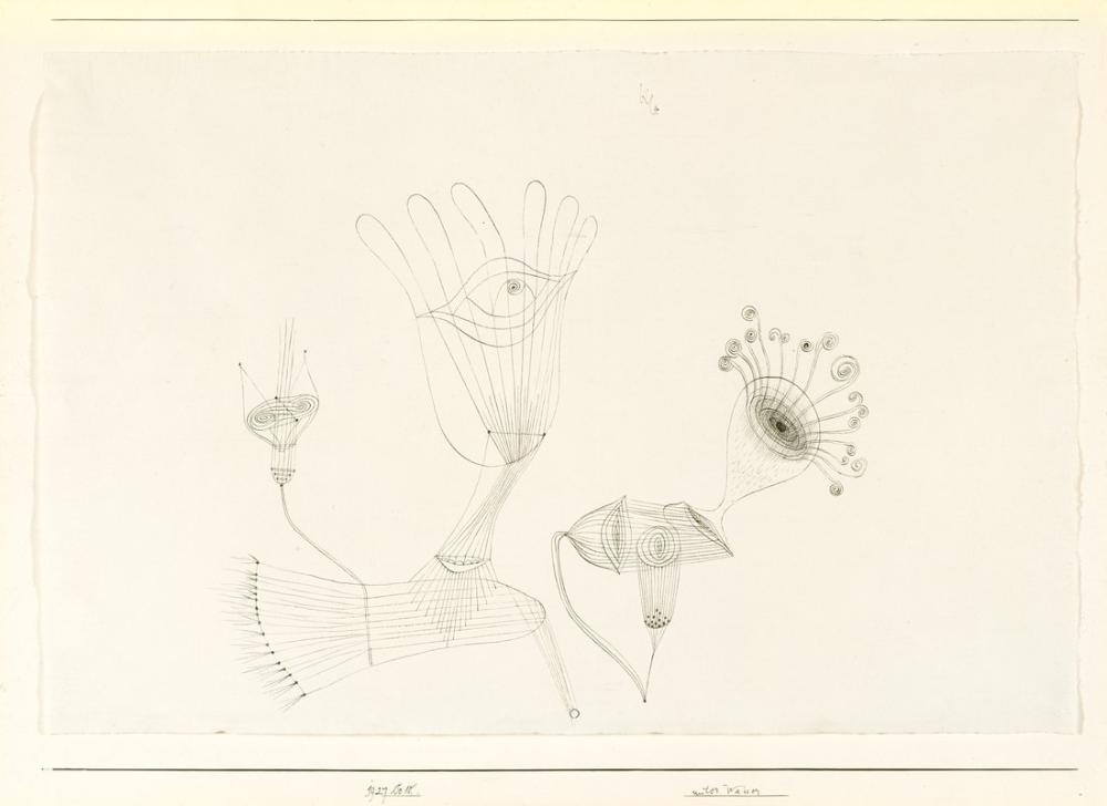 Paul Klee Under Water, Canvas, Paul Klee, kanvas tablo, canvas print sales