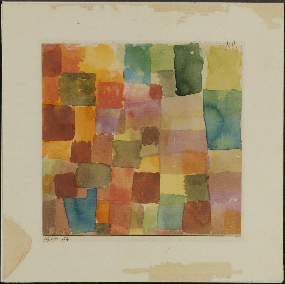 Paul Klee İsimsiz VI, Kanvas Tablo, Paul Klee, kanvas tablo, canvas print sales