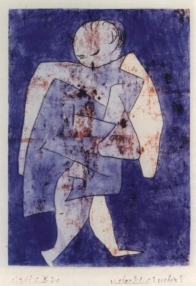 Paul Klee Nereden Nereye, Kanvas Tablo, Paul Klee, kanvas tablo, canvas print sales