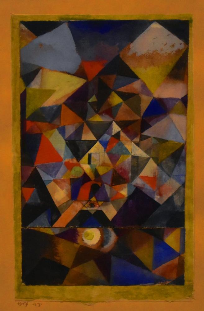 Paul Klee With The Egg, Canvas, Paul Klee, PK431
