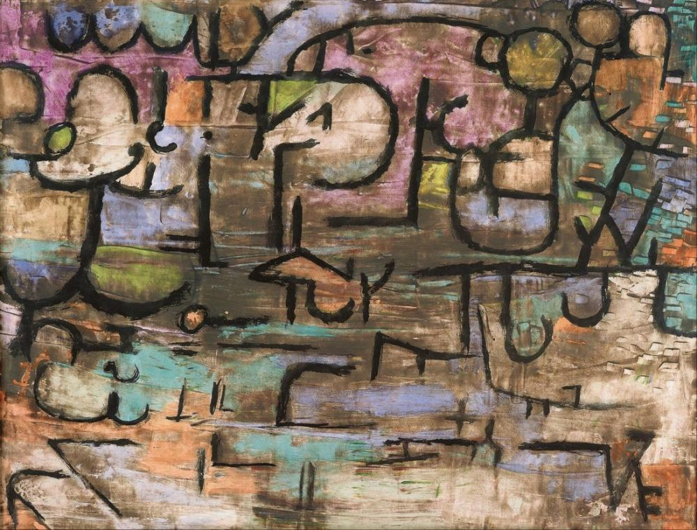 Paul Klee After The Flood, Canvas, Paul Klee, kanvas tablo, canvas print sales