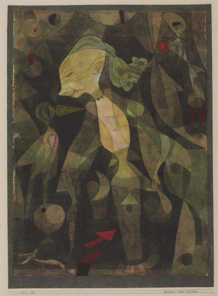 Paul Klee A Young Ladys Adventure, Canvas, Paul Klee, kanvas tablo, canvas print sales
