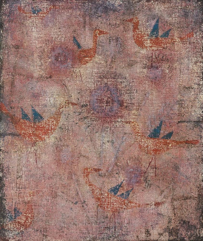Paul Klee Mavi kanatlı kuşlar, Kanvas Tablo, Paul Klee, kanvas tablo, canvas print sales