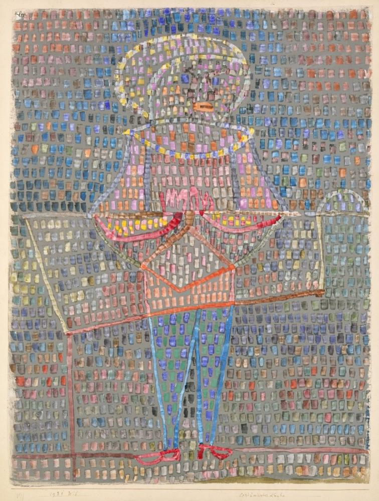 Paul Klee Boy In Fancy Dress, Canvas, Paul Klee, kanvas tablo, canvas print sales