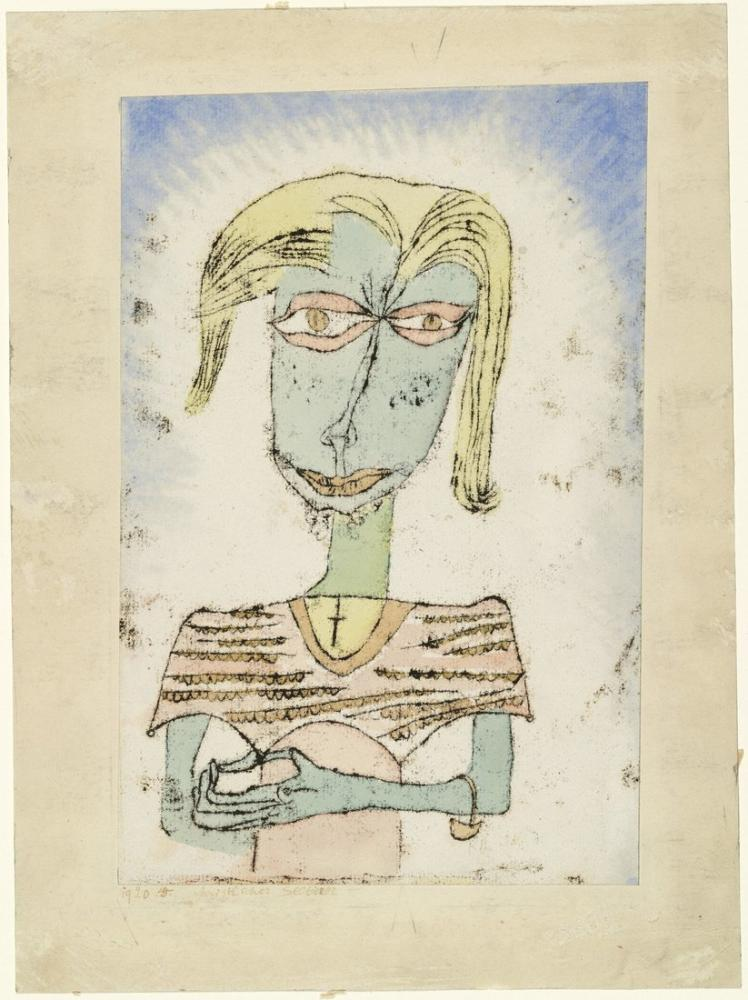 Paul Klee Christian Sectarian, Figure, Paul Klee, kanvas tablo, canvas print sales