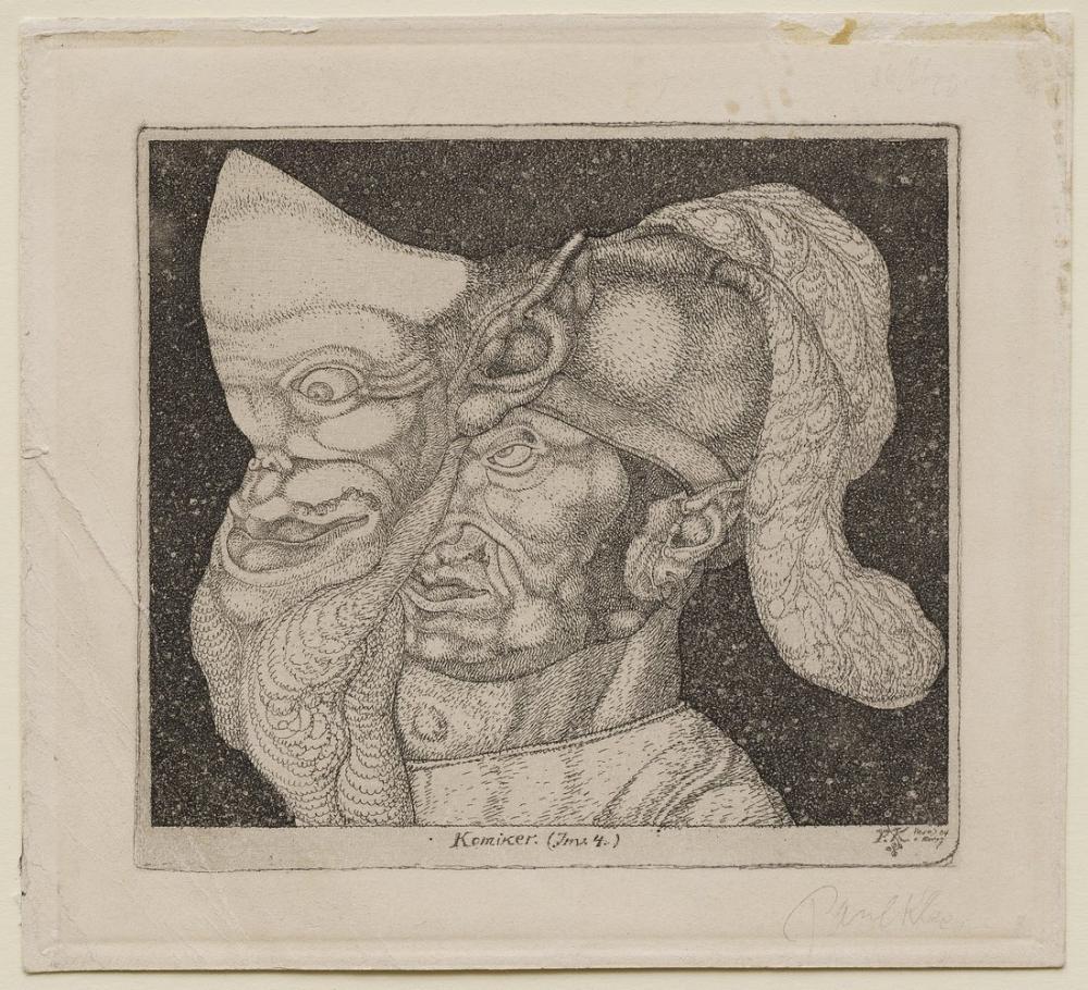 Paul Klee Comedian, Figure, Paul Klee, kanvas tablo, canvas print sales