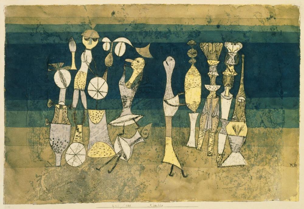 Paul Klee Comedy, Canvas, Paul Klee, kanvas tablo, canvas print sales