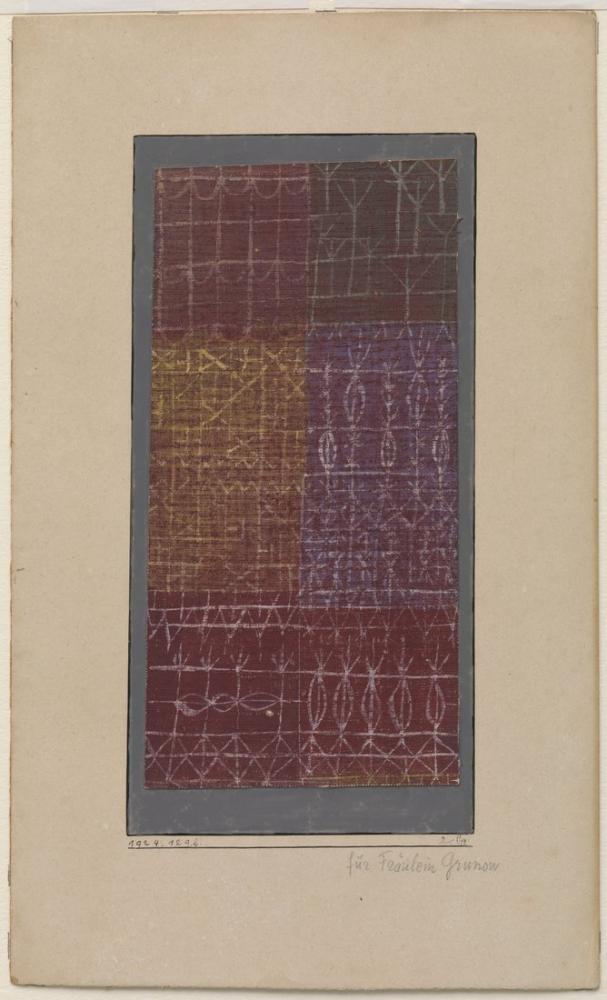 Paul Klee Curtain, Canvas, Paul Klee, kanvas tablo, canvas print sales